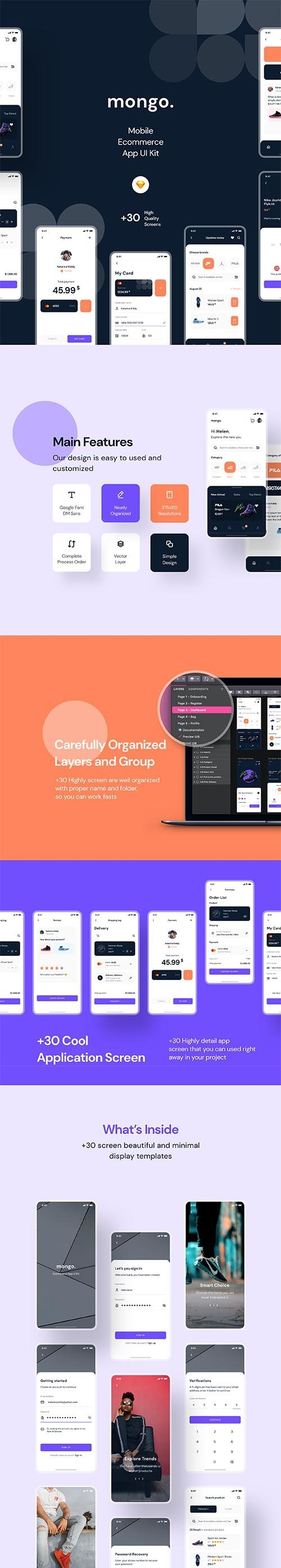 Mongo App UI Kit