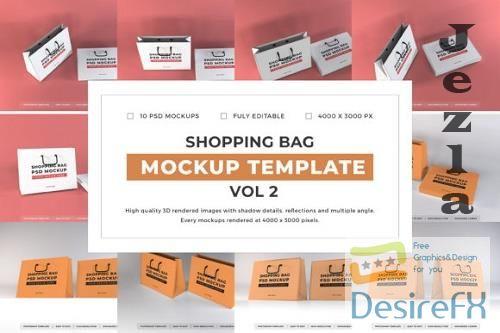 Shopping Bag Mockup Template Bundle Vol 2 - 1080772