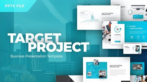 Target Project Business Presentation Template
