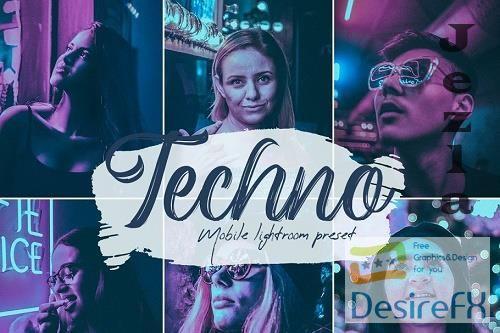 Techno Lightroom Presets - 5614462