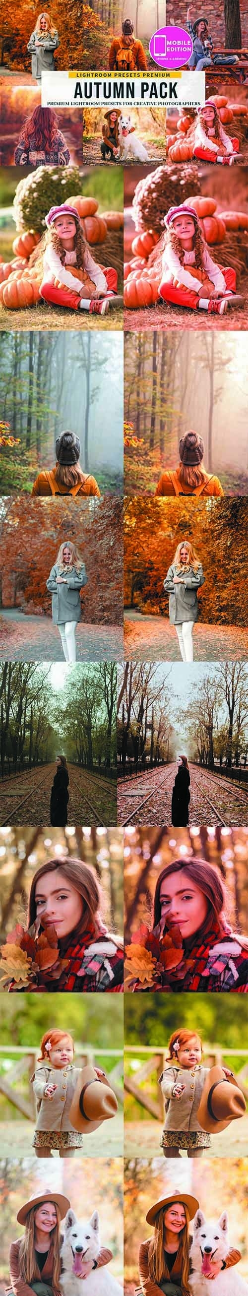 The Autumn Lightroom Presets 5506478