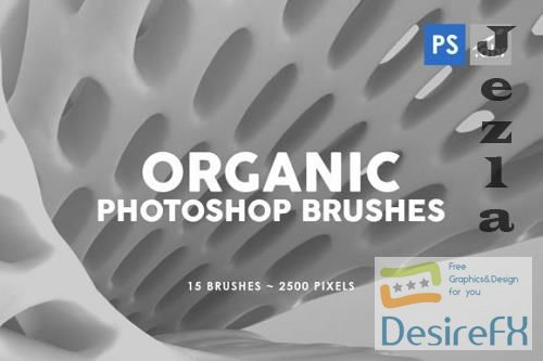 15 Organic Photoshop Stamp Brushes