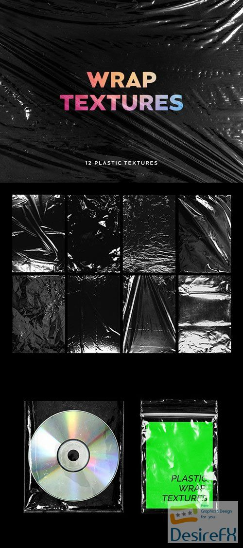 Plastic Wrap Textures Collection