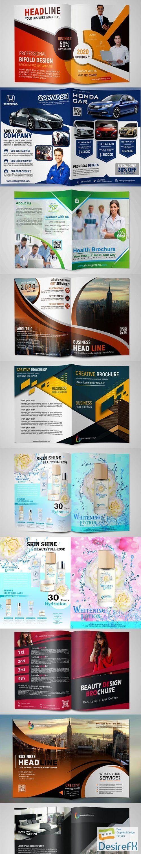 10 Multipurpose Brochures Designs PSD Templates