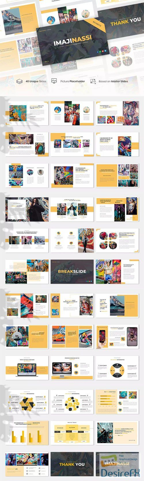 Imajinassi - Creative Business Keynote KEY Template