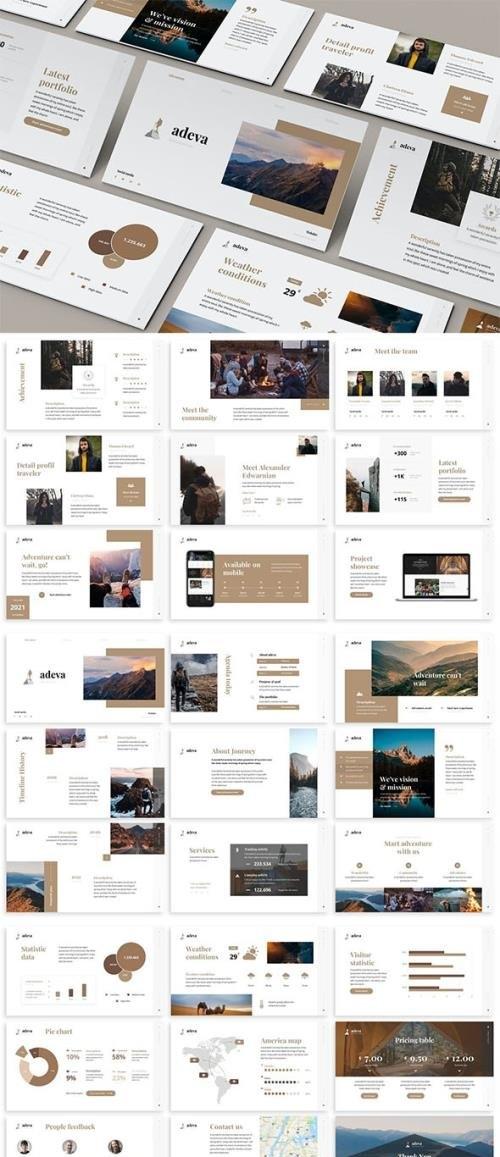 Adeva - Simplicity Powerpoint Template