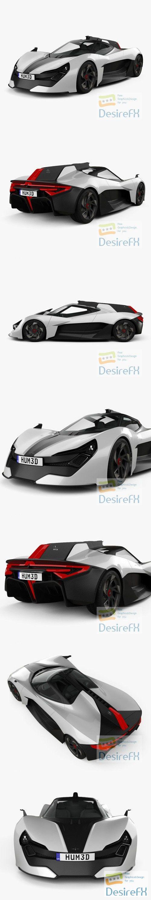 Apex AP-0 2020 Concept 3D Model