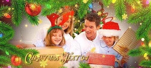 Christmas Celebration Slideshow - Premiere Pro 29589701