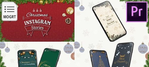 Christmas Instagram Stories for Premiere Pro 29726519