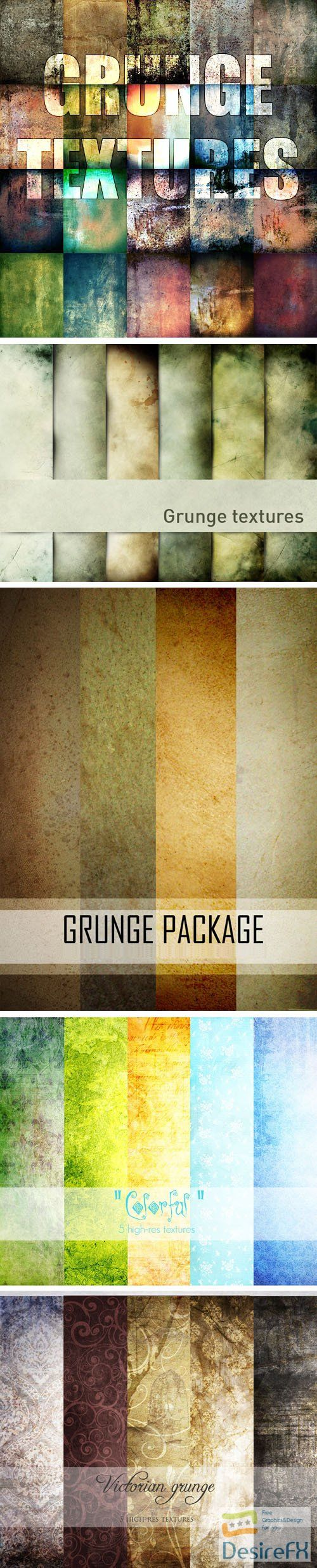 40+ Beautiful Grunge Textures Collection