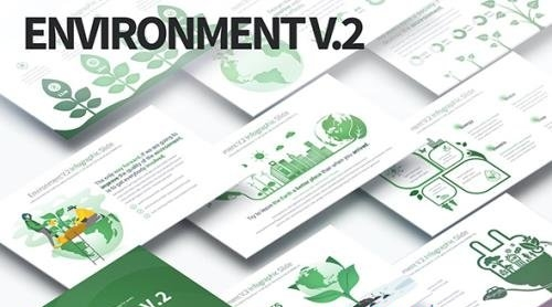 Environment V.2 - PowerPoint Infographics Slides