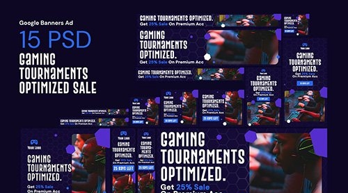 eSport & Game Services Banners Ad