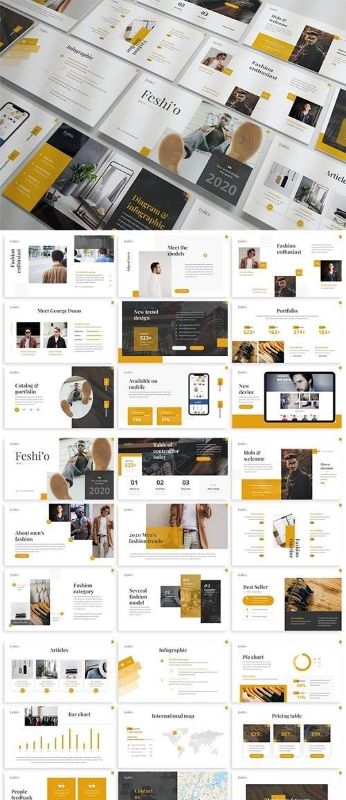 Feshio - Fashion Powerpoint Template