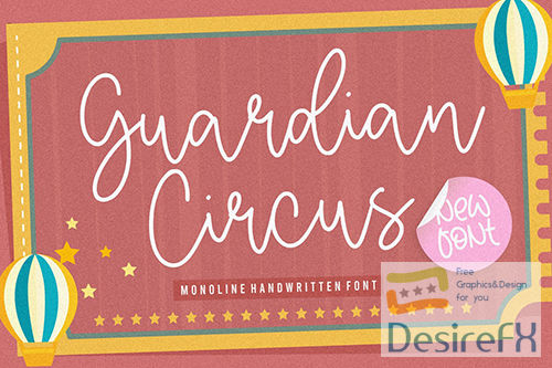 Guardian Circus Script Font YH