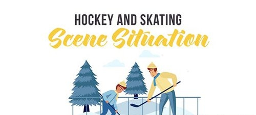 Hockey and skating sports - Scene Situation 29246978