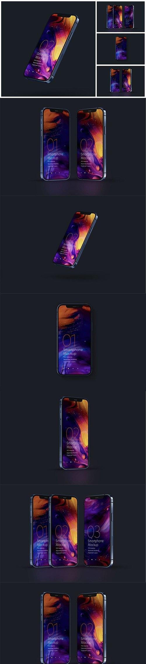 iPhone 12 Pro Mockup Set