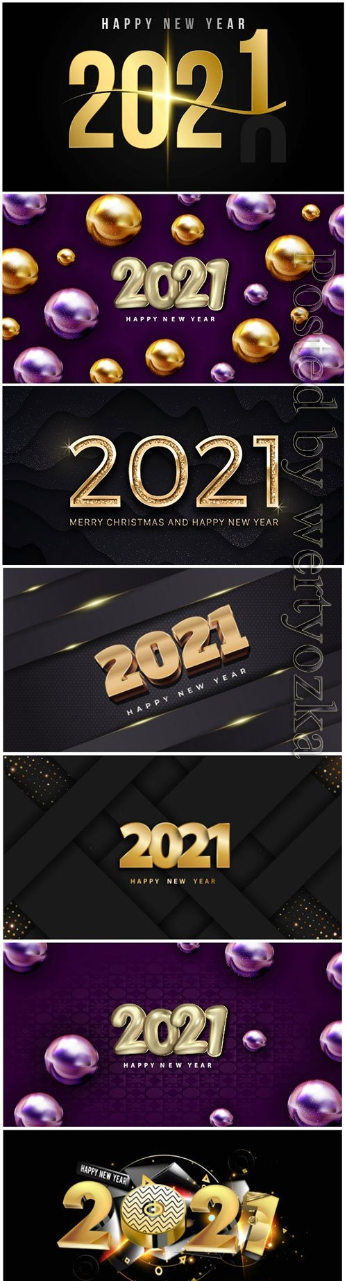Merry christmas and happy new year luxury golden elegant text