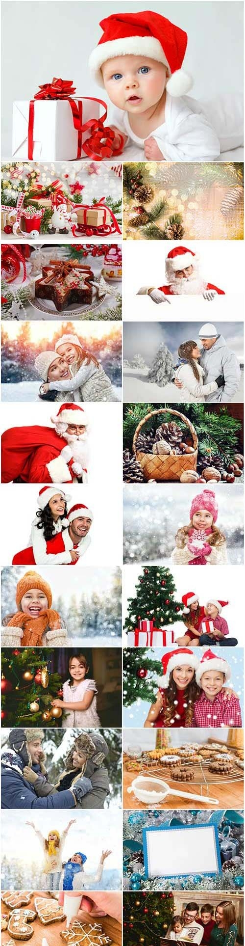 New Year and Christmas stock photos 90