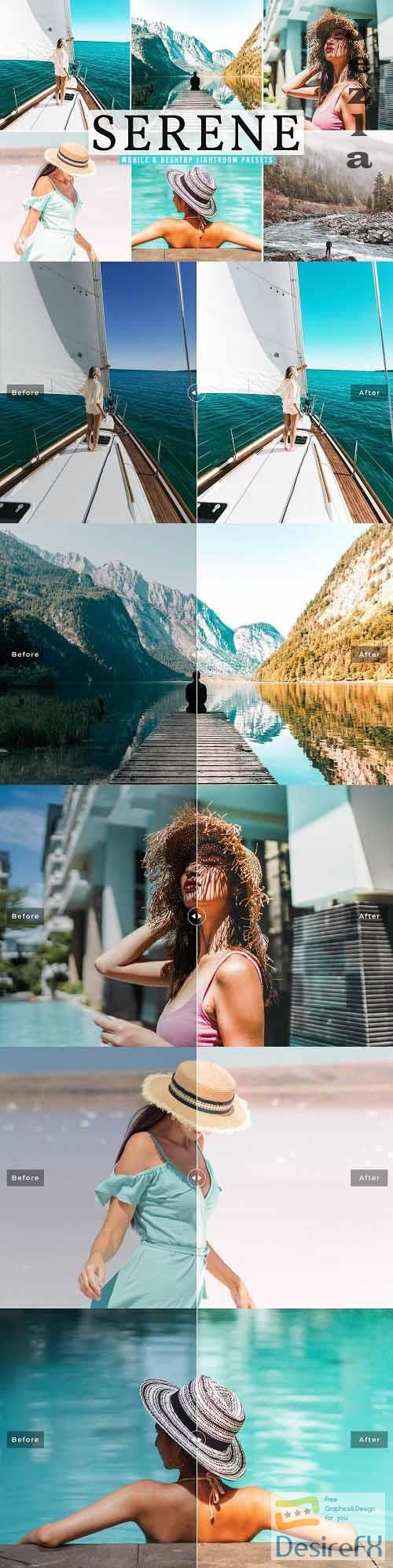 Serene Pro Lightroom Presets - 5729359 - Mobile & Desktop