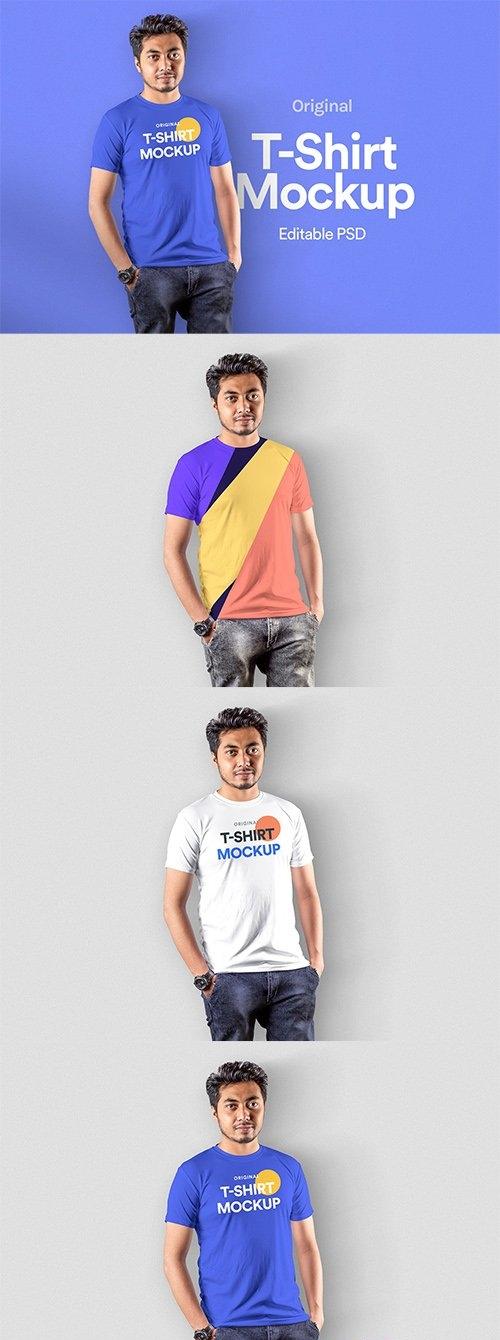 T-Shirt Mockup - Vol 19