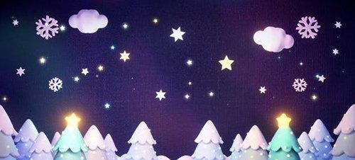 Winter Forest Night 29474011