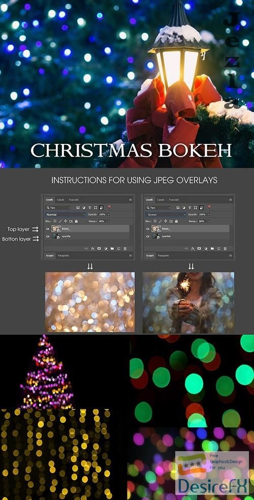 80 Bokeh Christmas, lights background - 1126594