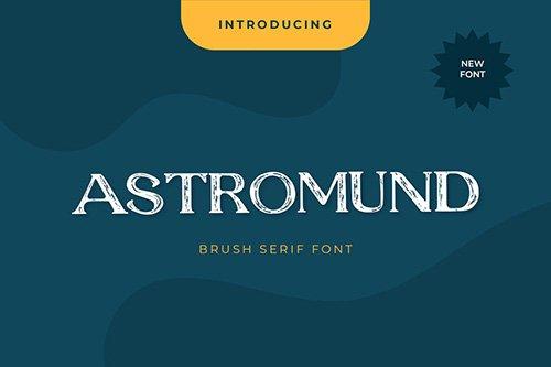 Astromund Serif Display Font