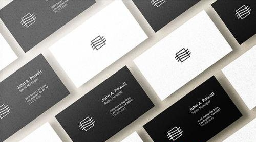 Business Card Mockup 3WULAS7