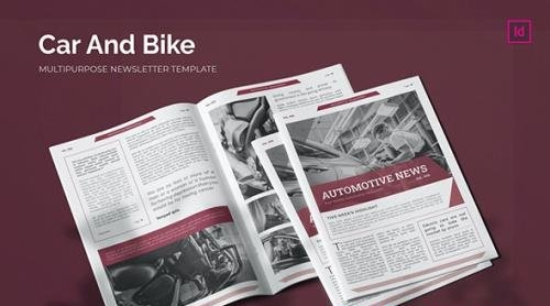 Car and Bike - Newsletter Template