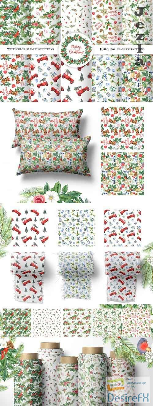 Christmas Seamless patterns - 947454