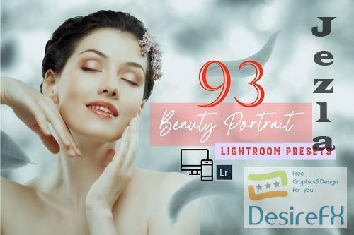 CreativeMarket - 93 Beauty Portrait Lightroom Presets 5758242