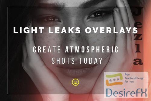 CreativeMarket - Light Leaks Overlays 5772734