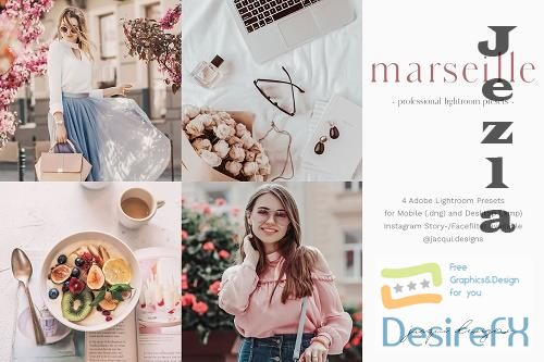 CreativeMarket - Marseille Lightroom Preset Pack 5759816
