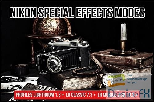 CreativeMarket - Nikon Special Effects Modes profiles 5726966