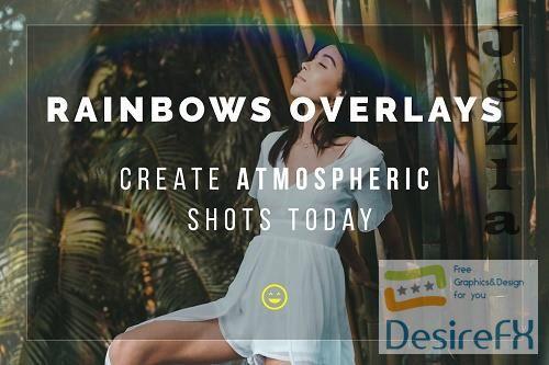 CreativeMarket - Rainbow Overlays 5772731