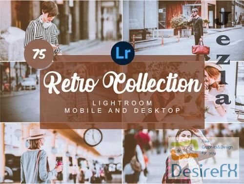 CreativeMarket - Retro Collection Mobile Presets - 5736412
