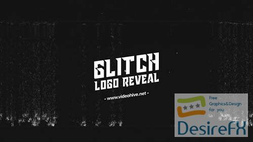 Fast Glitch Logo Reveal 29575132