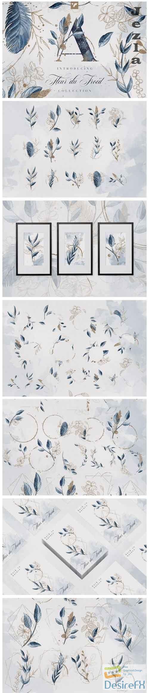 Fleur du Froid Graphic Collection - 5785749