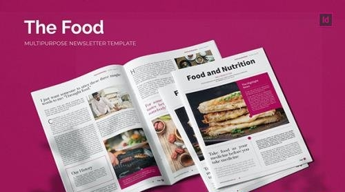 Food and Nutrition - Newsletter Template