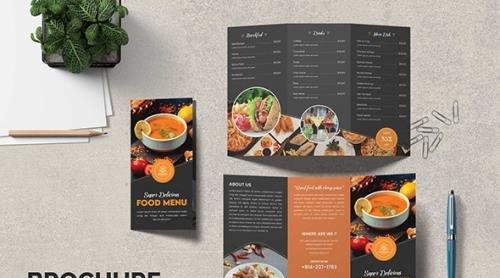 Food Trifold Brochure