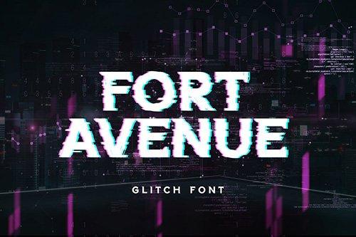 Fort Avenue Serif Display Font