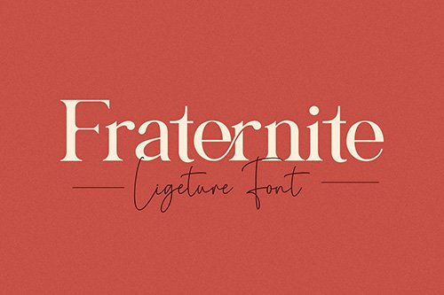 Fraternite Serif Font