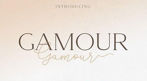 Gamour - Elegant Serif Font