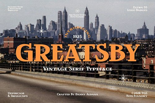 Greatsby Typeface