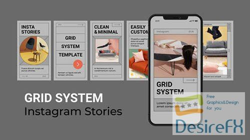 Grid System Instagram Stories 30187305