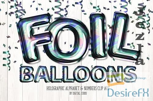 Holographic Foil Balloon Alphabet - 5757926