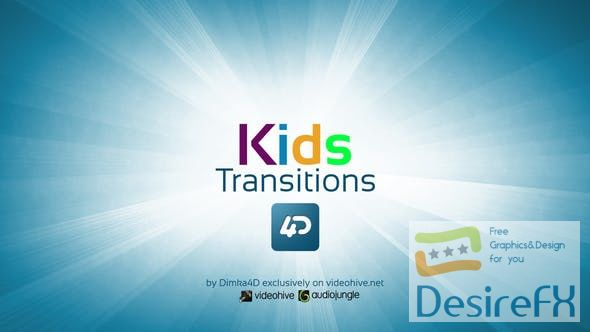 Videohive Kids Transitions 22731090