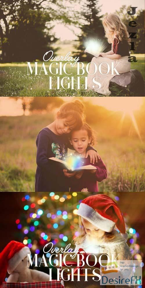Magic Book Lights Overlay