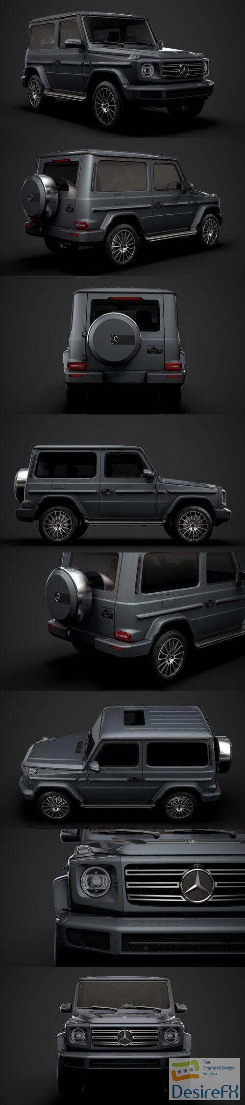 Mercedes Benz G 550 W463 2020 3D Model