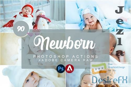 Newborn Photoshop Actions - 5733434
